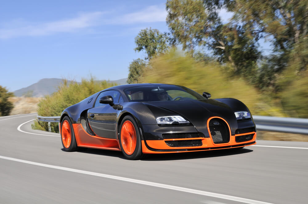The Final Bugatti Veyron has rolled of the production line